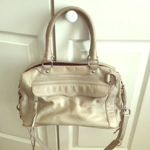 Vintage Rebecca Minkoff MAB satchel in grey
